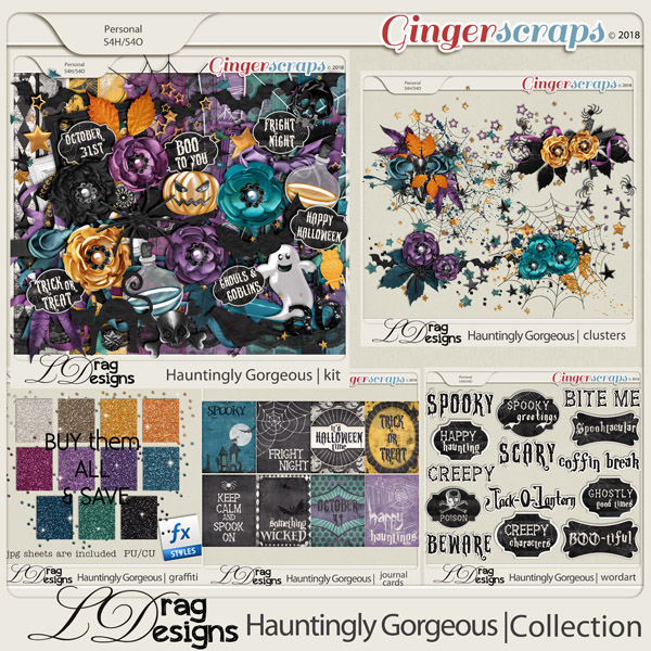Hauntingly Gorgeous: The Collection by LDragDesigns