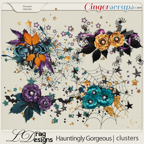 Hauntingly Gorgeous: Clusters by LDragDesigns