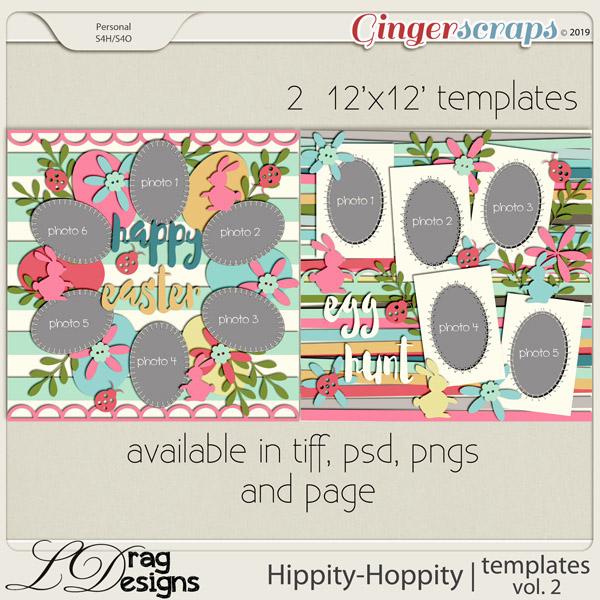 Hippity Hoppity: Templates Vol. 2 by LDragDesigns