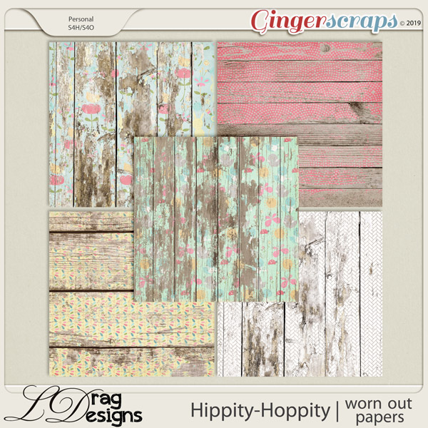 Hippity Hoppity: Worn Out Papers by LDragDesigns