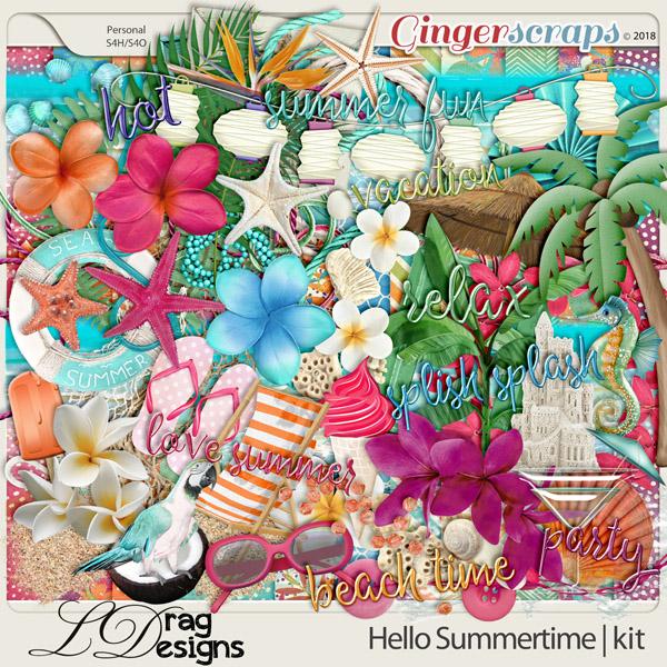 Hello Summertime by LDragDesigns