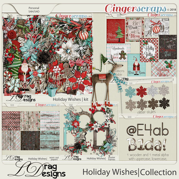 Holiday Wishes: The Collection by LDragDesigns