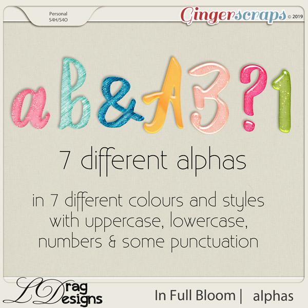 In Full Bloom: Alphas by LDragDesigns