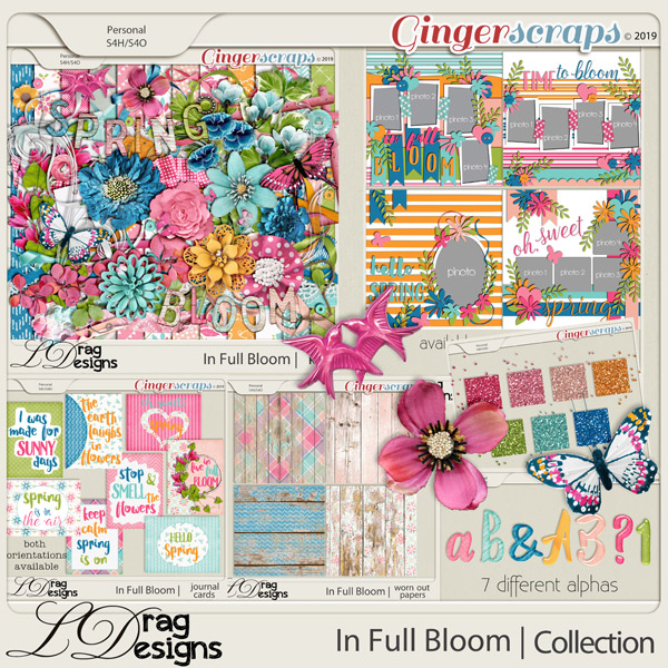 In Full Bloom: The Collection by LDragDesigns