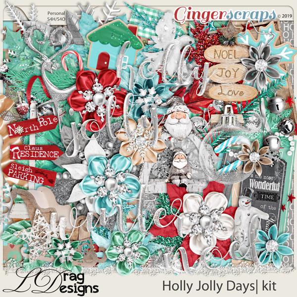 Holly Jolly Days by LDragDesigns