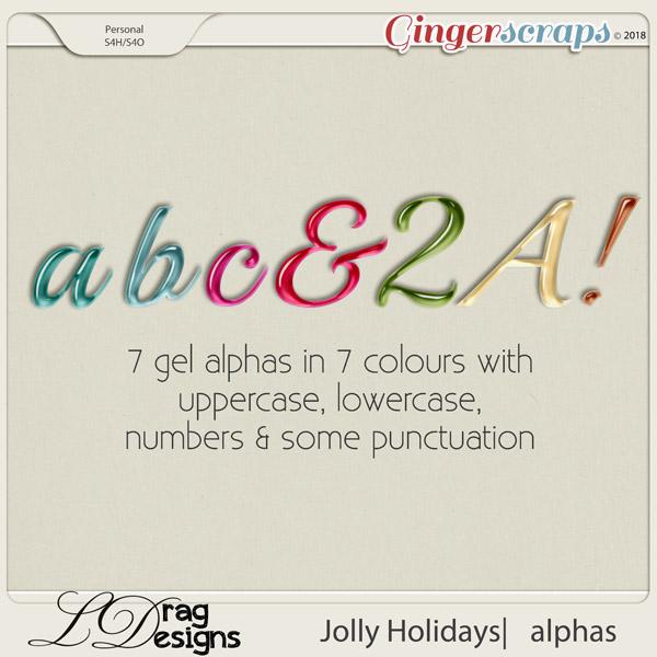 Jolly Holidays: Alphas by LDragDesigns
