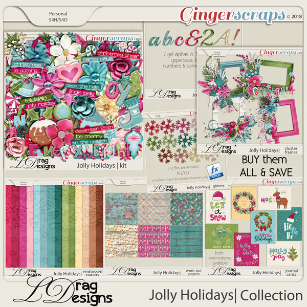Jolly Holidays: The Collection by LDragDesigns