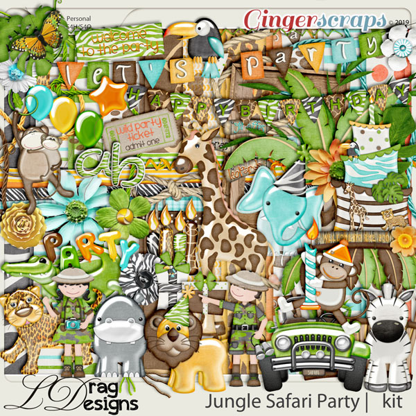 Jungle Safari Party by LDragDesigns