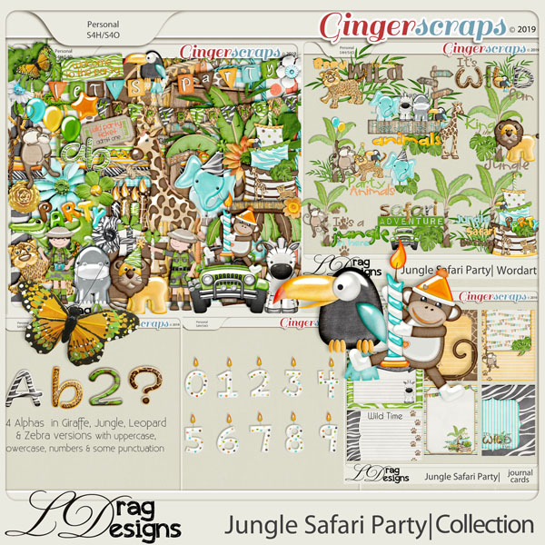 Jungle Safari Party: The Collection by LDragDesigns