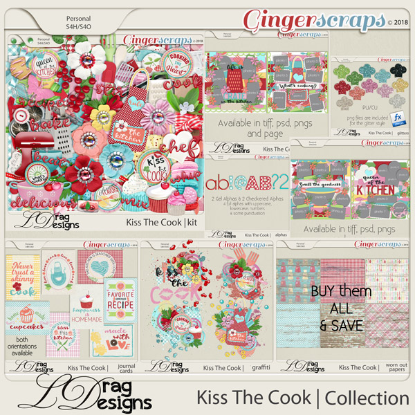 Kiss The Cook: The Collection by LDragDesigns
