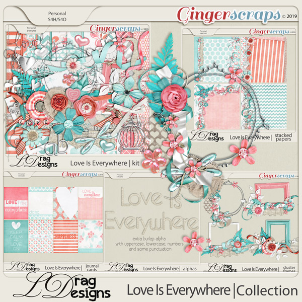 Love Is Everywhere:The Collection by LDragDesigns