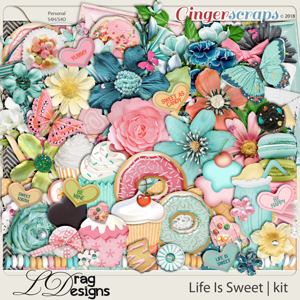Life Is Sweet by LDrag Designs