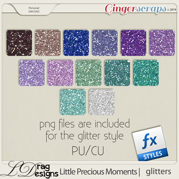Little Precious Moments: Glitterstyles by LDragDesigns