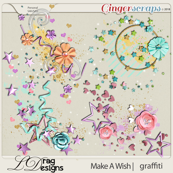 Make A Wish: Graffiti by LDrag Designs
