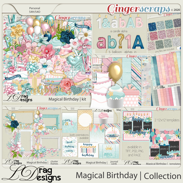 Magical Birthday: The Collection by LDragDesigns