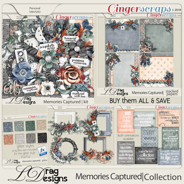 Memories Captured: The Collection by LDragDesigns