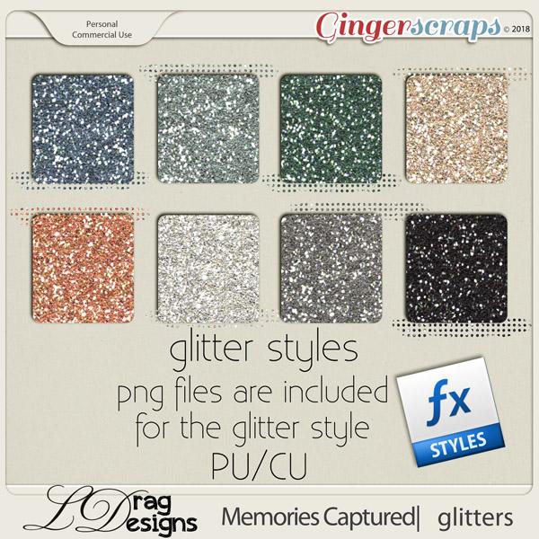 Memories Captured: Glitterstyles by LDragDesigns