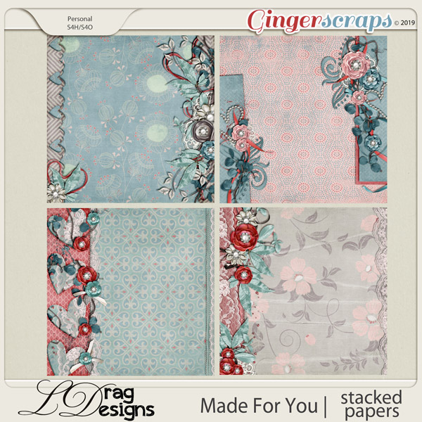Made For You: Stacked Papers by LDragDesigns
