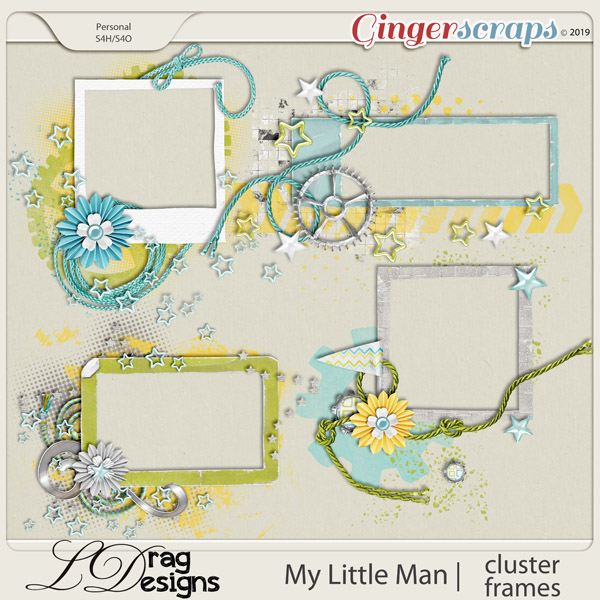 My Little Man: Cluster Frames by LDragDesigns