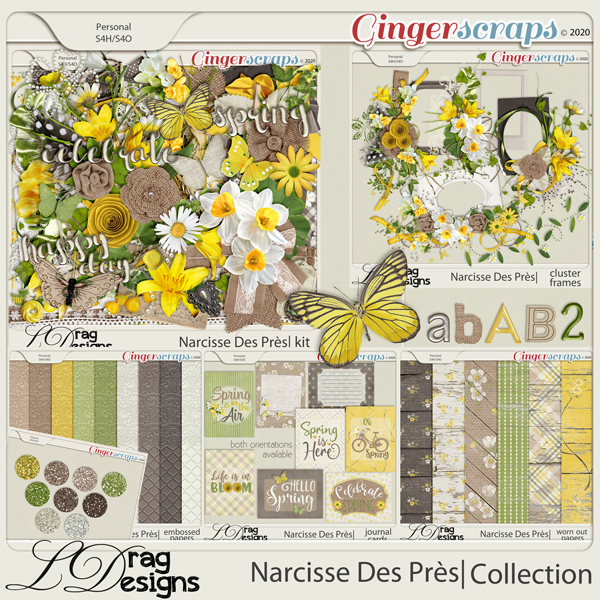 Narcisse Des Près: The Collection by LDragDesigns