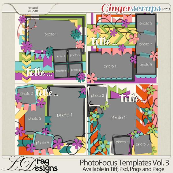 Photo Focus Templates Vol. 3 by LDragDesigns