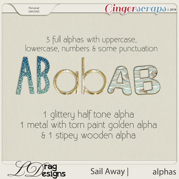 Sail Away: Alphas by LDrag Designs