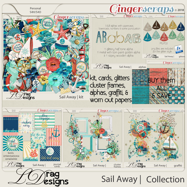 Sail Away: The Collection by LDrag Designs