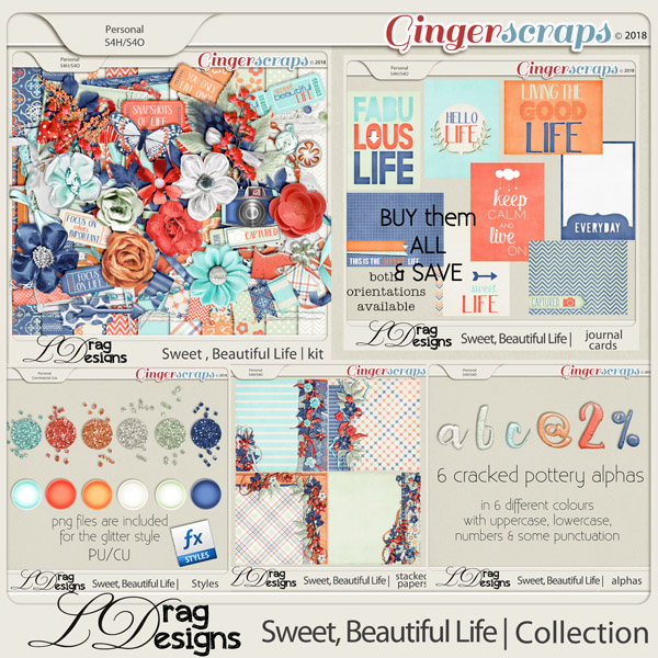 Sweet, Beautiful Life: The Collection by LDragDesigns