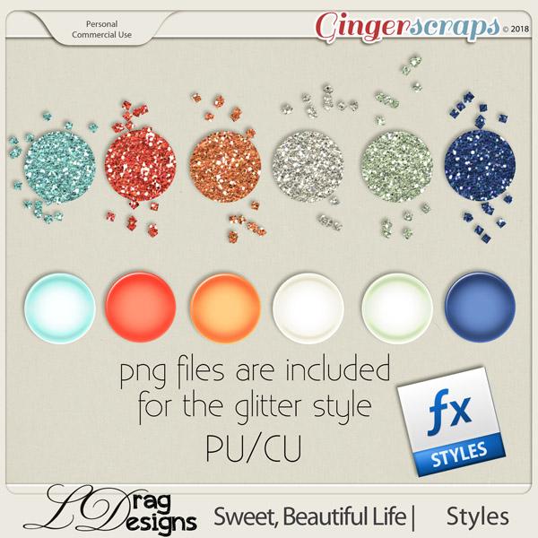 Sweet, Beautiful Life: Styles by LDragDesigns