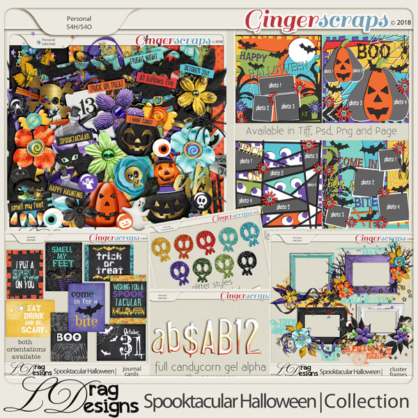 Spooktacular Halloween: The Collection by LDragDesigns