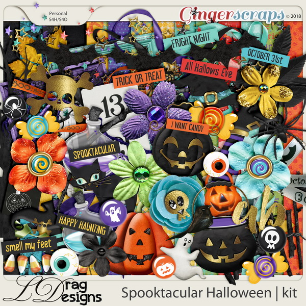 Spooktacular Halloween by LDragDesigns