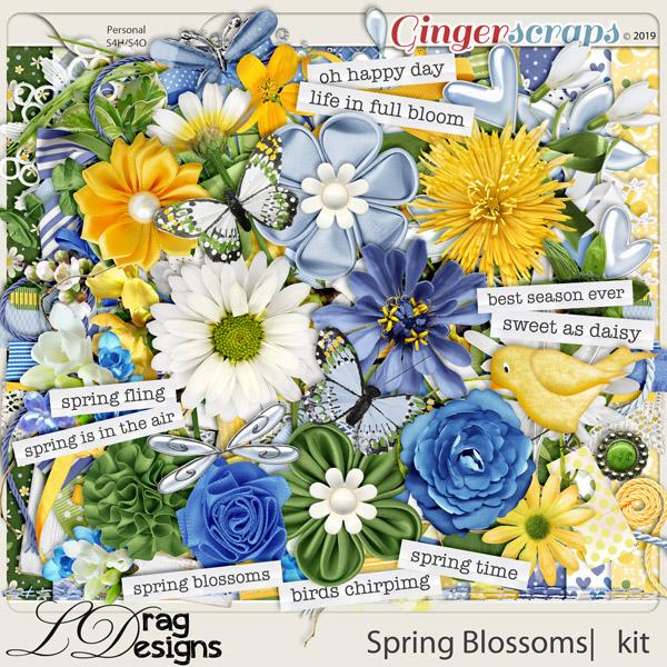 Spring Blossoms by LDragDesigns