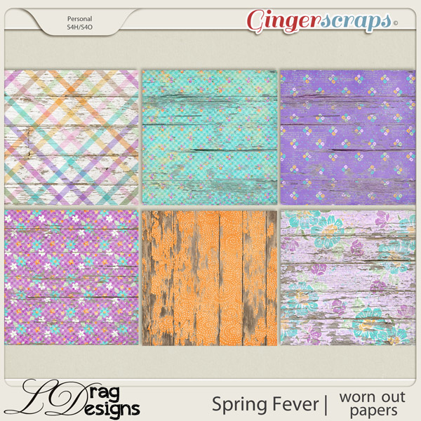 Spring Fever: Worn Out Papers by LDragDesigns