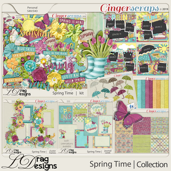 Spring Time: The Collection by LDragDesigns