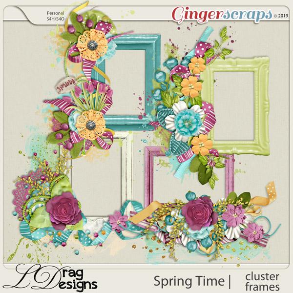 Spring Time: Cluster Frames by LDragDesigns