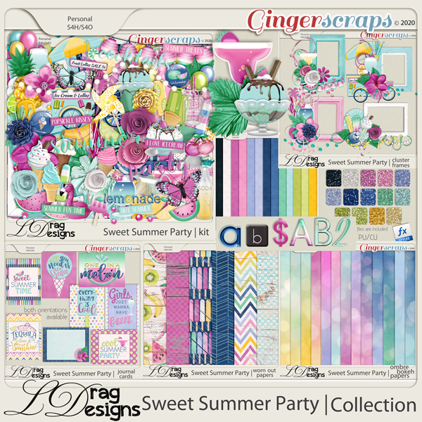 Sweet Summer Party: The Collection by LDragDesigns