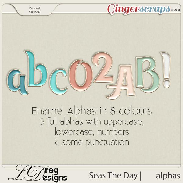 Seas The Day: Alphas by LDrag Designs