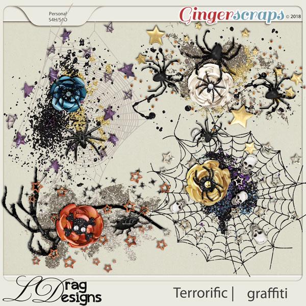 Terror-ific: Graffiti by LDragDesigns