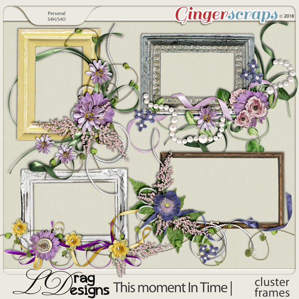This Moment In Time: Cluster Frames by LDragDesigns