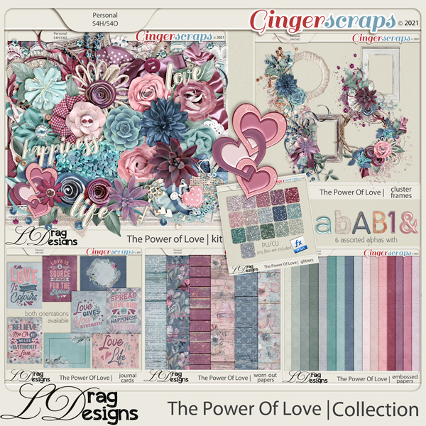 The Power Of Love: The Collection by LDragDesigns