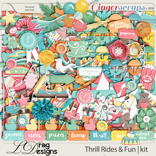 Thrill Rides & Fun by LDrag Designs