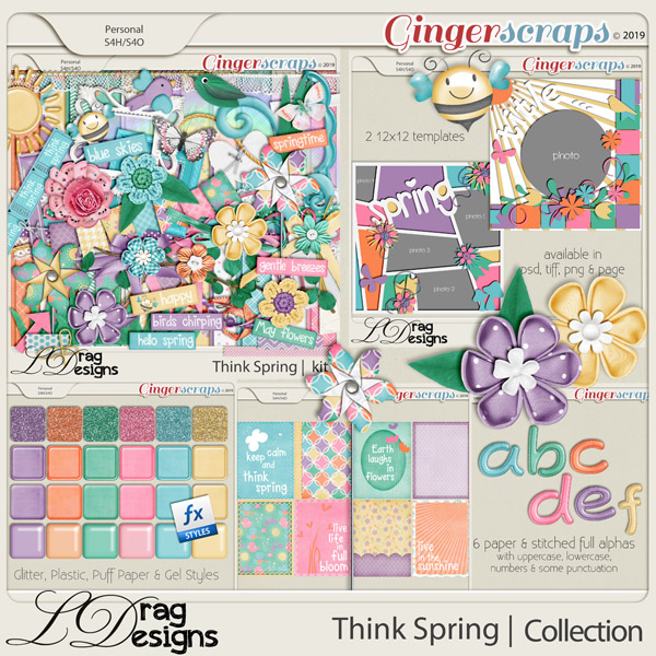 Think Spring: The Collection by LDragDesigns