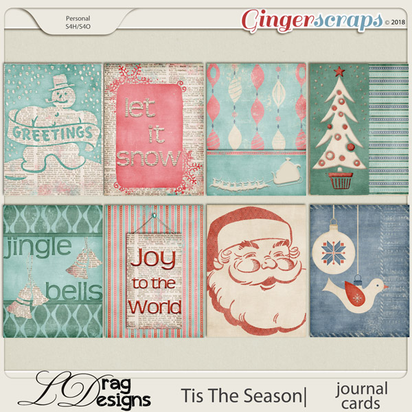 Tis The Season: Journal Cards by LDragDesigns