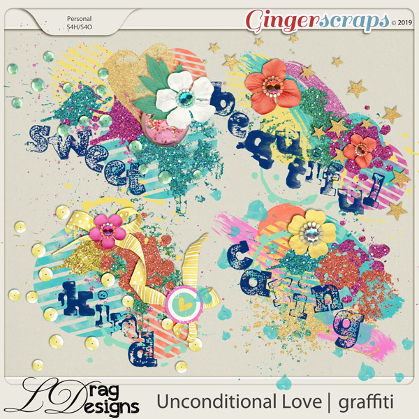 Unconditional Love: Graffiti by LDragDesigns