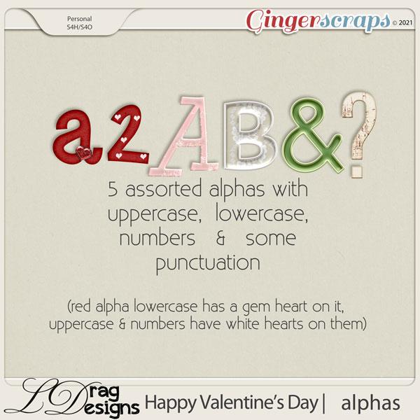 Valentine's Day: Alphas by LDragDesigns