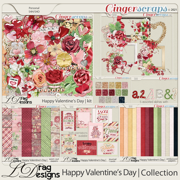 Valentine's Day: The Collection by LDragDesigns