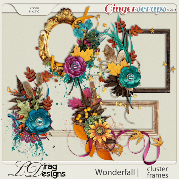 Wonderfall: Cluster Frames by LDragDesigns