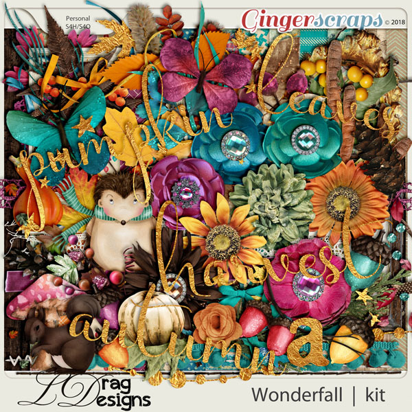 Wonderfall by LDragDesigns