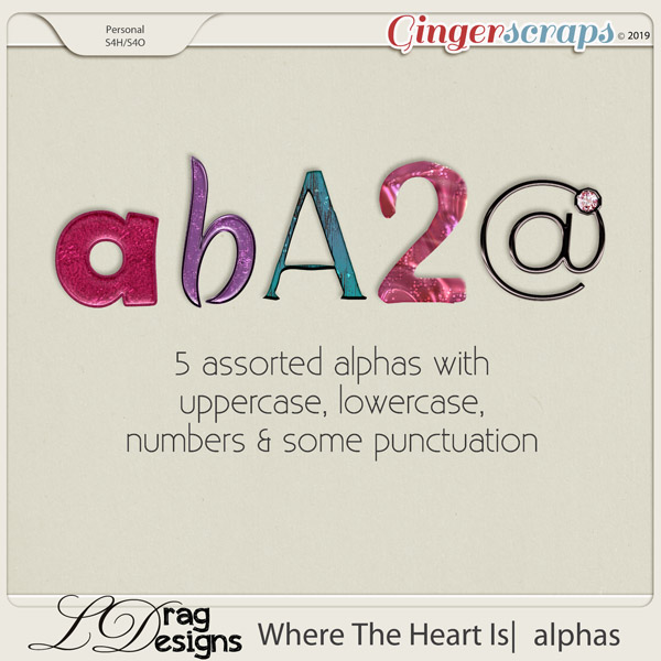 Where The Heart Is: Alphas by LDragDesigns