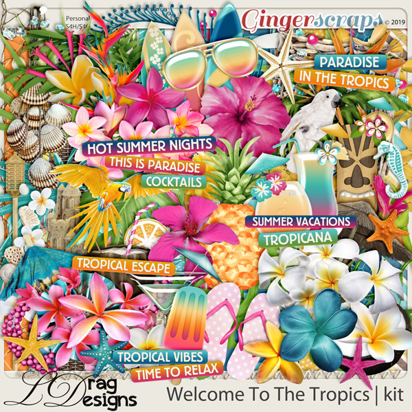 Welcome To The Tropics by LDragDesigns
